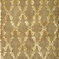 Rugs - Arbor Brown and Gold Rug | LampsPlus.com - rug, brown, gold