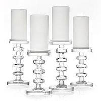 Decor/Accessories - Cristallo Pillar Holders | Z Gallerie - candle holder, crystal, pillar
