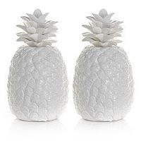 Decor/Accessories - Ceramic Pineapple | Z Gallerie - pineapple, ceramic, white