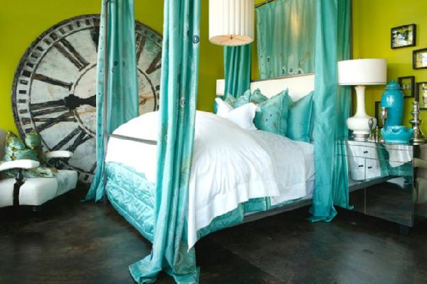 Cot In A Box Morocco Turquoise: House Of Turquoise: One Lush Turquoise Bed