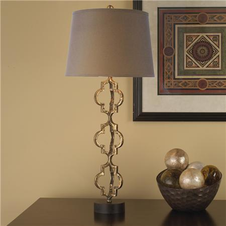 table lamp shades. Gold Gothic Revival Table Lamp