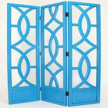 Decor/Accessories - Charleston 3-Panel Room Divider - Room Dividers - Home Accents - Home Decor | HomeDecorators.com - screen, rooom divider, divider, laquer, regency, hollywood regency, glam