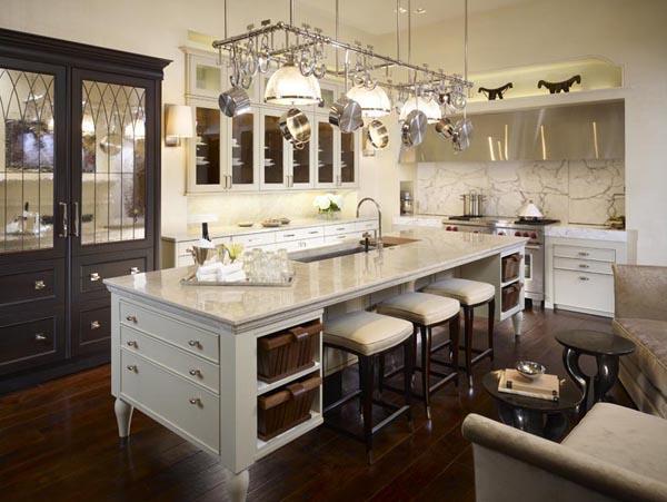Calcutta Gold Marble, Transitional, kitchen, de Giulio Kitchen Design