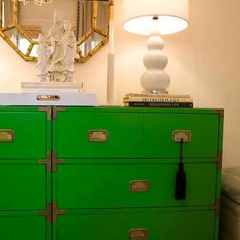 Campaign Chest, Hollywood Regency, living room, Turquoise LA