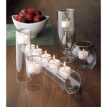 Decor/Accessories - Crate and Barrel - Pixie Candleholder shopping in Crate and Barrel Candleholders - candle holder, glass, votives