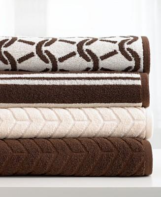 Bath - Michael Kors Taos Bath Towel Collection - Bedding Michael Kors Bedding Bedding Collections - Bed & Bath - Macy's - towels