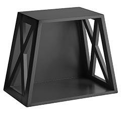 Decor/Accessories - Pier 1 Imports - X-Cube - Black - shelf, black