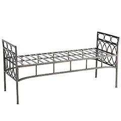 Seating - Pier 1 Imports - Rings Bench - bench, iron