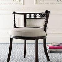 Seating - Chairs�? Seating�? -�? The Horchow Collection - Annie Selke, chair, chic