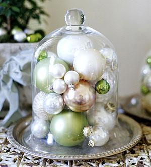 Suzie: Home - Elegant Holiday Arrangements - Christmas, ornaments, cloche