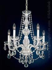 Lighting - Schonbek 1302 Arlington 5 Light Chandelier - Lighting by Lux - schonbek