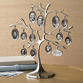 family tree photo frame from RedEnvelope.com