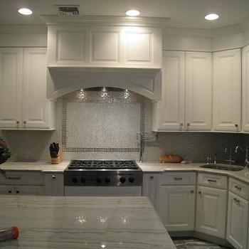 kitchens - white wood kitchen, glass backsplash,  kitchen  white wood kitchen, glass backsplash