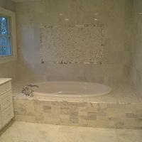 bathrooms - carrera marble, carrera marble bathroom, carrera marble tiles,  luxurious bathroom  carrera marble master bath