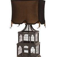Martina Aged Mirror Table Lamp Base World Market
