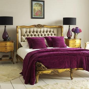Beds/Headboards - Chateau Double Bedstead - Graham and Green - french bed