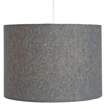 Lighting - Room & Board - Felt Medium Pendant - pendant, light, gray, grey