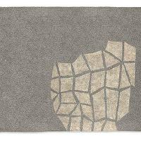 Rugs - Room &amp; Board - Fuller Felted Rug - rug, grey, gray