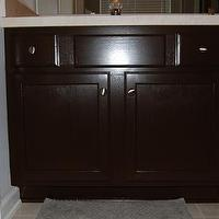 bathrooms - Behr Espresso Beans, master bathroom, cabinets,  master bathroom
