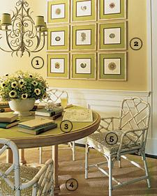 Bamboo Chairs, , dining room