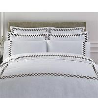 Bedding - Save on the 300TC Egyptian Cotton Cable Duvet at SmartBargains.com - scroll, bedding, duvet, shams