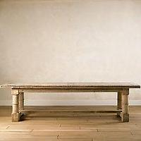 miscellaneous - reclaimed, wood, table,  Restoration Gun Barrel Table. If anyone buys this table or sees it used in a dining room space I would