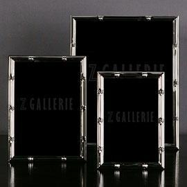 Decor/Accessories - Silver Bamboo Frame | Z Gallerie - faux, bamboo, silver, frames