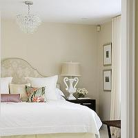 Sarah Richardson Design - bedrooms - sarah richardson bedroom, sarah richardson bedrooms, upholstered headboard,  Ivory sophisticated bedroom
