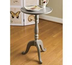 Nature's Wonder Wooden Pedestal Table - Accent Tables - Living