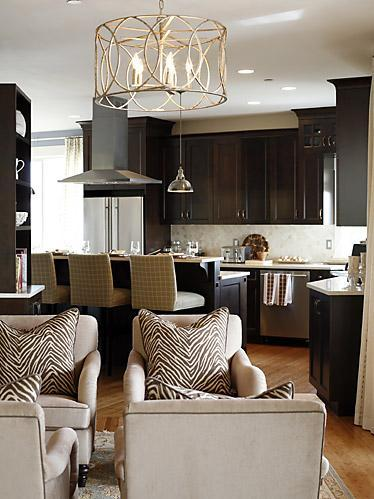 Espresso Cabinets Contemporary Kitchen Sarah Richardson Design