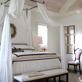 Iron Canopy Bed, Transitional, girl's room, Gary McBournie