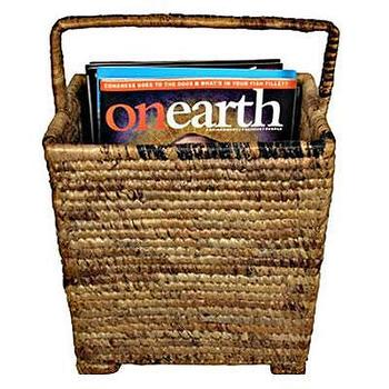 Decor/Accessories - Baskets | African Baskets | Pisang Magazine Rack | bluedango - magazine rack