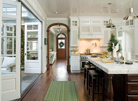 Folding Doors, Transitional, kitchen, Traditional Home