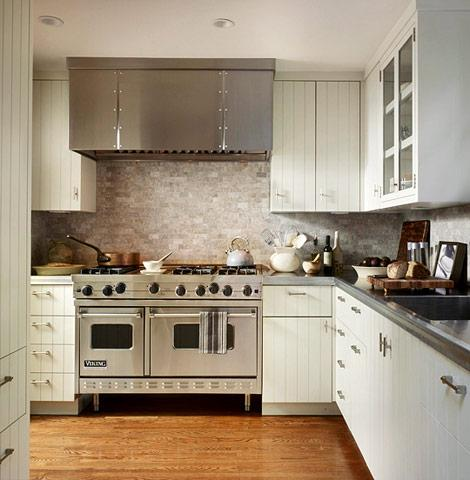 Beadboard Kitchen cabinets - Transitional - kitchen - Traditional Home