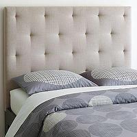 Beds/Headboards - Diamond Tufted Headboard | west elm - diamond, tufted, headboard