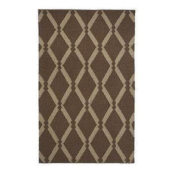Rugs - Beaded Diamond Dhurrie | west elm - diamond, dhurrie, rug