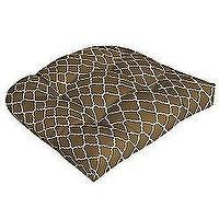 Decor/Accessories - Arden Outdoor OUTDOOR WICKER CHAIR CUSHION - PISA COCOA - Sears, Wicker, Outdoor Cushion, Brown