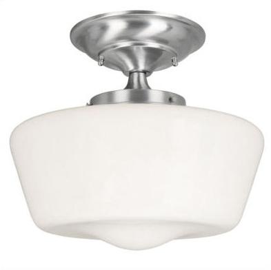 schoolhouse ceiling light l4l. Black Bedroom Furniture Sets. Home Design Ideas