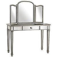 Storage Furniture - Pier 1 Imports - Hayworth Vanity &amp; Mirror - hayworth, mirrored, vanity