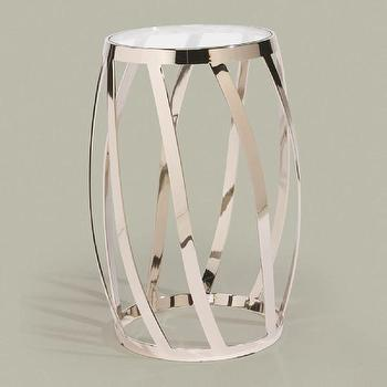 Tables - ethanallen.com - nickel accent table | ethan allen | furniture | interior design - nickel, table