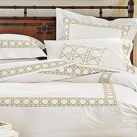 Bedding - Williams-Sonoma Home | Cane Embroidered Bedding - cane, bedding