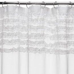 Bath - Ruffles Shower Curtain : Target - ruffle, curtain