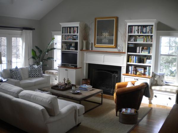 revere pewter transitional living room benjamin On benjamin moore revere pewter living room