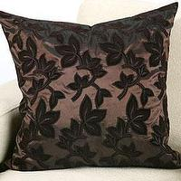 Pillows - Chocolate Chloe Pillow | Z Gallerie - pillow