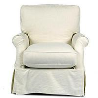 Seating - Boston Interiors :: Living Room :: Chairs - slipcover, chair