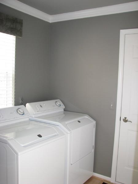 Laundry Room Benjamin Moore Galveston Gray