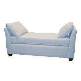 Amazon.com: Skyline Furniture Roscoe Village Double Arm Chaise Lounge with Pillows by Skyline Furniture: Furniture & Decor