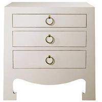 Storage Furniture - Jacqui 3-Drawer Side Table Bungalow 5 Furniture Asian Bedside Table Painted Lacquer Furniture Extra Tables - jacqui, nightstand, table