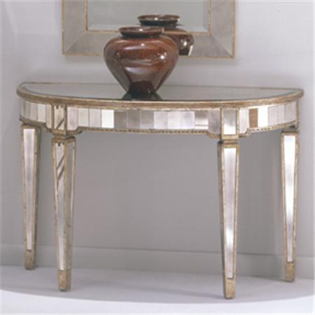 Mirrored Console Table!