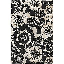 tufted contemporary rojan collection rug 7 39 9 round